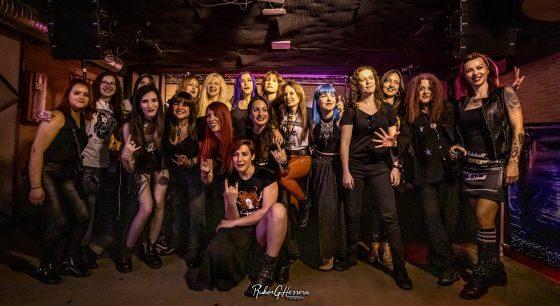 Evento Rockin' Ladies con Vanity Rose
